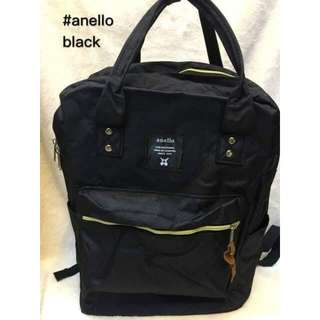💎 ANELLO CLASSIC BLACK BACKPACK 💎