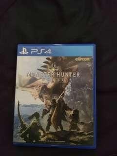 Monster Hunter World (R3) PS4