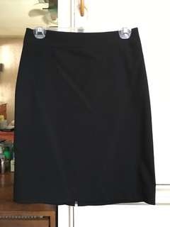 Uniqlo Black Skirt