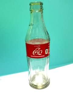 可口可樂 Coca Cola 泰國版 Thai Thailand 樽 可樂樽 玻璃樽 收藏品 珍藏