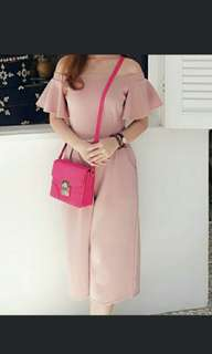 Jumpsuit dusty pink