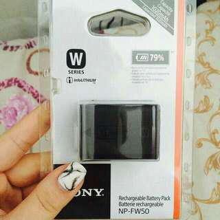 Limited Sony NP-FW50 Rechargeable Battery   Sony alpha series