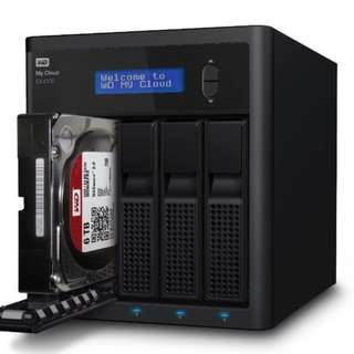 WD My Cloud Pro Series PR4100 (8TB Red) NAS Bundle