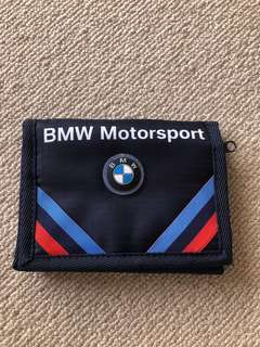 Brand new Puma & BMW blue men wallet