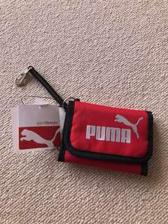 Brand new Puma men red wallet