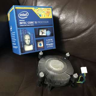 Original INTEL Heat Sink with Box (NEW)