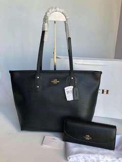 Authentic Coach Set Bag&Wallet
