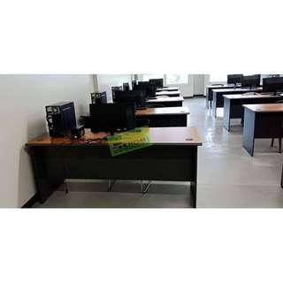 RV & SA SERIES SET (A) FREESTANDING TABLE 150Wx70Dx75Hcm