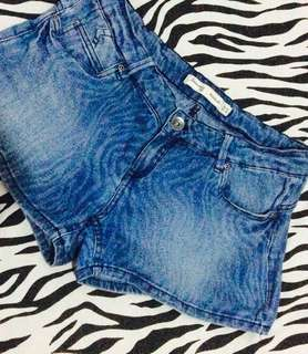 Hot pants jeans - Preloved size 38