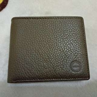 Hickok Leather Wallet Coin Pocket Card Slots Photo ID