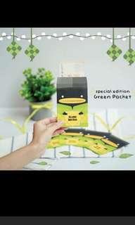 Irvins speical green hari raya packs