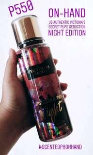 Victoria's Secret PURE SEDUCTION NIGHT EDITION Fragrance Mist
