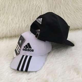 TOPI PRIA (adidas black / white)