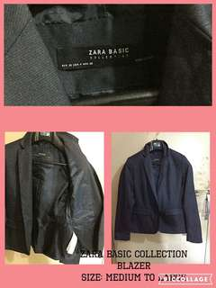 Preloved Zara Basic Blazer