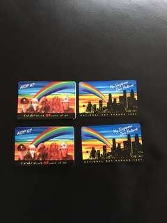 1997 NDP vintage MRT card