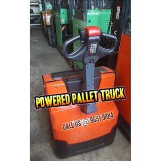 Powered Pallet Truck (Fully Electric)