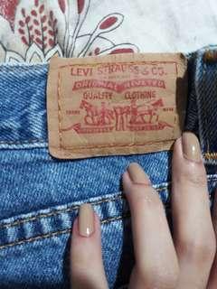Levis HW Shorts