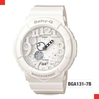 FREE DELIVERY *CASIO GENUINE* [BGA131-7B] 100% Authentic with 1 Year Warranty! BGA-1317B BGA-131-7B BGA1317B