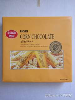 日本北海道粟米朱古力 Corn Chocolate,28粒