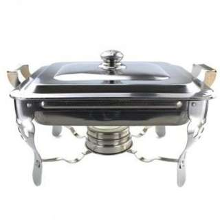 Unibest Stainless Steel Food Warmer Chafing Dish With Fuel