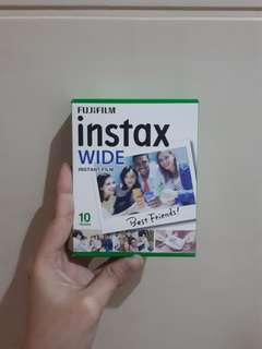 [FUJIFILM] INSTAX WIDE INSTANT FILM 10 SHEETS