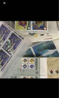 Singapore postage stamps discounted price