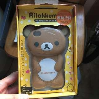 鬆弛熊iphone4電話套