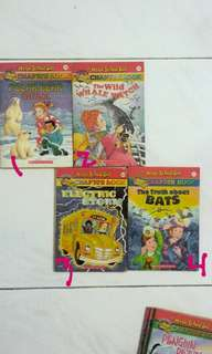 Magic School Bus Chapter Books !