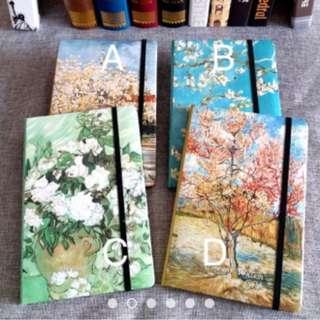 Van Gogh Hardbound Notebook