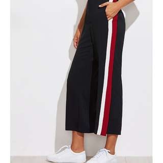 Side Slit Jogging Pants