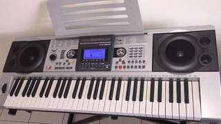 61 keys touch response piano keyboard