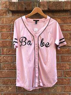 """Babe"" pink jersey"