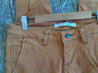 Ladies' Freego Brown Pants Size 29
