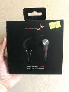 Music Anywhere Wireless Bluetooth Headset Orig