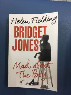 Bridget Jones - Mad About The Boy - by Helen Fielding