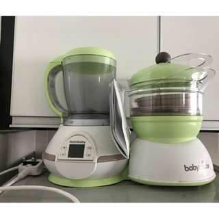 Baby Moov Steamer/Blender Set