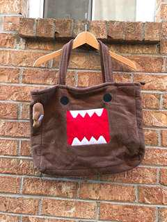DOMO plushie bag with dumo key chain