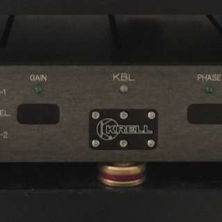 Krell KBL Preamplifier with Separate Power Supply