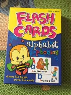 Alphabet Phonics Flashcards
