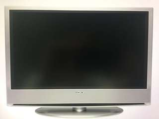 SONY BRAVIA - First Generation, Used but Working. Wall mount/Stand available. HD Ready. Buy as is.