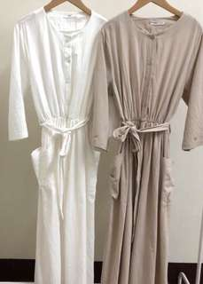 全新棉麻洋裝