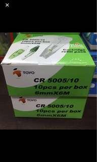 Quick deal (U.P $10.60) : Toyo CR 5005/10 6mm X 6m Correction Tape 10 Refill Packs Per Box