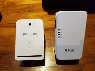 D-link home plug with wifi