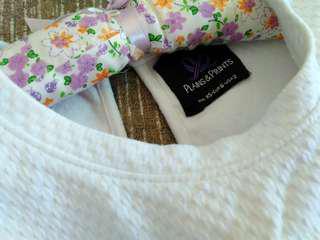 Plains & Prints White Blouse