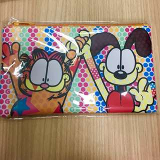 Garfield 40th birthday anniversary merchandise pouch pencil case