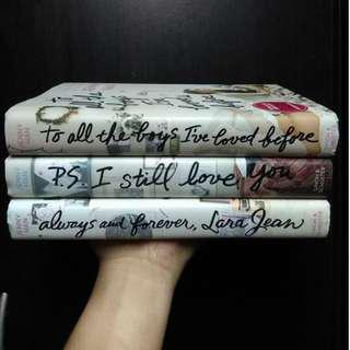 To All The Boys I've Loved Before Trilogy by Jenny Han