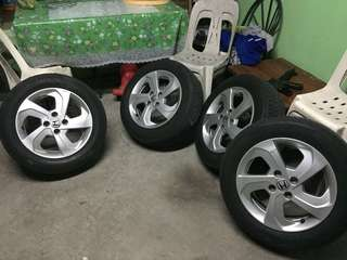 Honda City 2016 Mags with Tyres