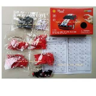 - 1:32 Mustang FR500C Model #57090 3D Puzzle BRAND NEW for sale in Singapore