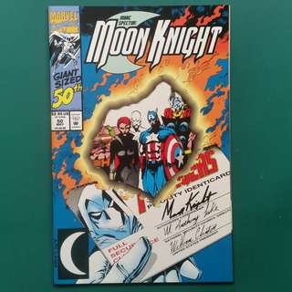 Moon Knight No.50 comic