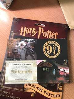 Harry Potter Postcard